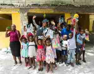 Yemi Alade Visits Orphanage in Haiti Ahead of Headline Concert